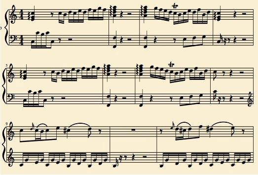 Mozart K279