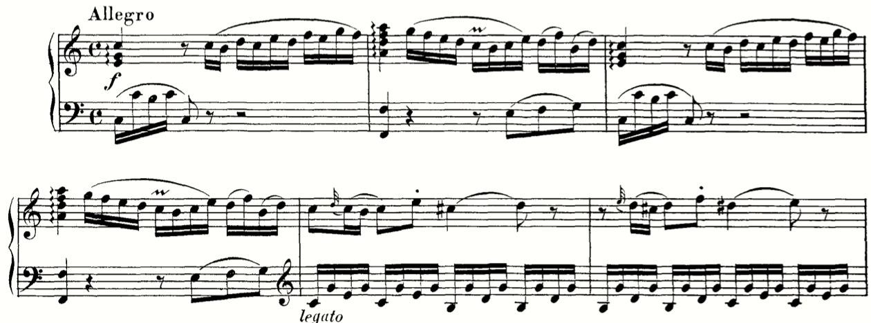 Mozart K279*