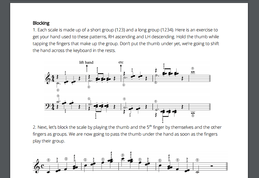 Practising the Piano Are Scales Fun? - Practising the Piano