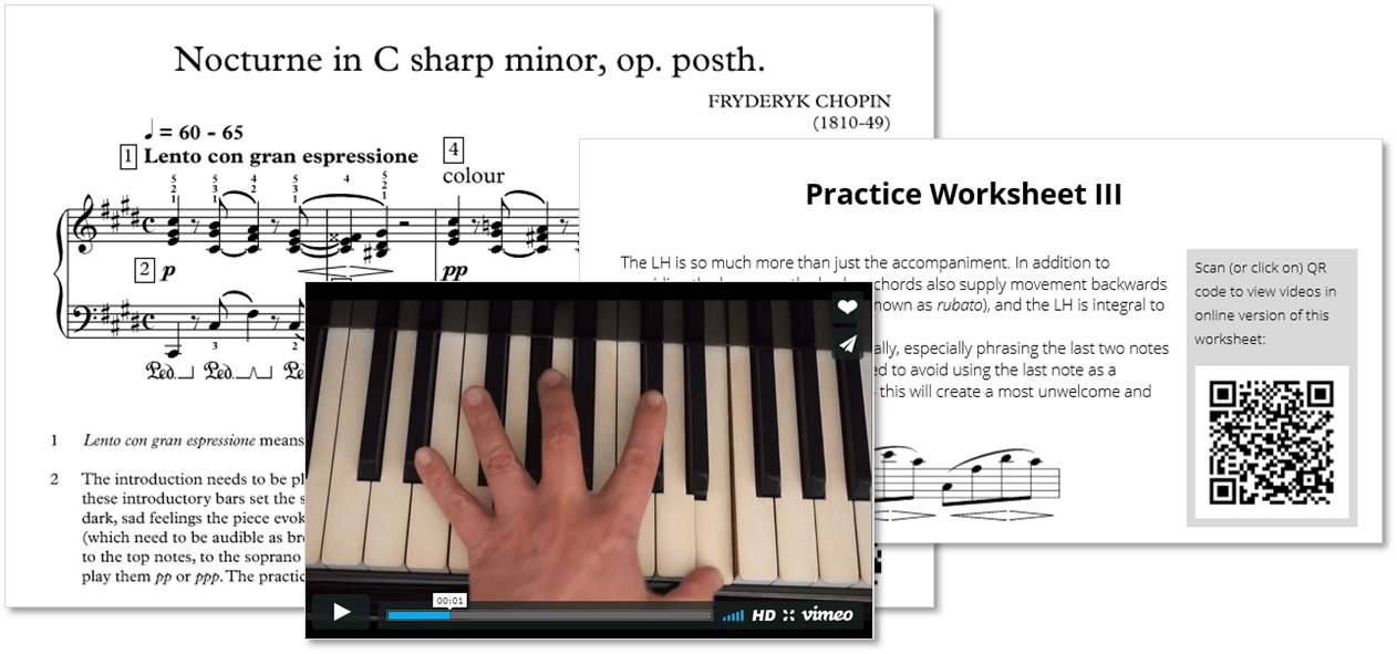 Practising The Piano Chopins Nocturne In C Sharp Minor Op Post